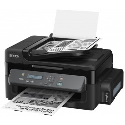 M200 A4 3en1 (copy scan print)  34ppm 1440*720Dpi 1200Dpi bac papier 100 pages  USB 2,0