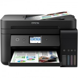 EcoTank ITS L6190 A4  4en1 (copy scan print fax)  33ppm USB ETHERNET WiFi