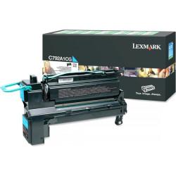 Lexmark 708XC Cyan Extra High Yield Return Program Toner Cartridge