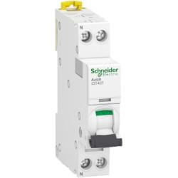 Disjoncteur modulaire 2P Courbe C 25A 4,5kA