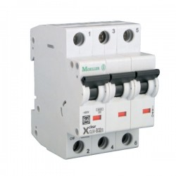 Disjoncteur modulaire 3P Courbe C 10A 4,5kA