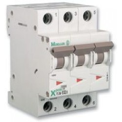 Disjoncteur modulaire 3P Courbe C 40A 4,5kA