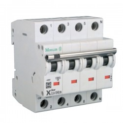 Disjoncteur modulaire 3P+N Courbe C 16A 4,5kA