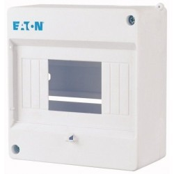 Coffrets de distribution Mini, 1 rangée 5 PE, IP30