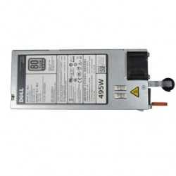 Single, Hot-plug Power Supply (1+0), 495W,CusKit - T340