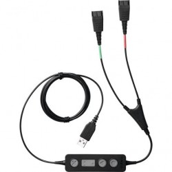 Jabra Link 265 USB with 2 QD Training cable with mute option