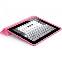 iPad Smart Case - Polyurethane - Pink