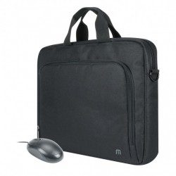 Mobilis Bundle TheOne Basic Briefcase Toploading 14-16'' + mouse