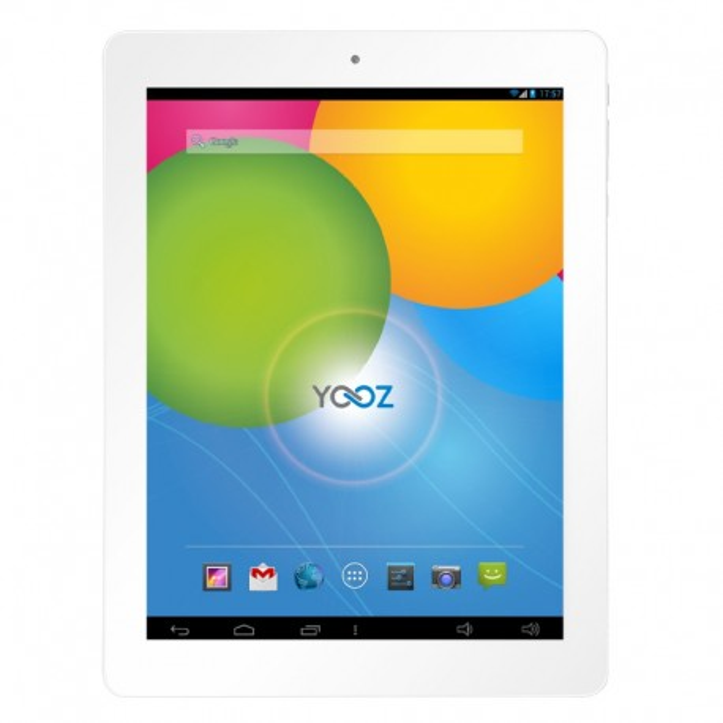YooZ MyPadi970FHD, Retina,intel Quad Core, White , 16GB, 3G ETUI GRIS CLAIRE OFFERT