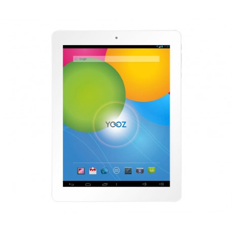 YooZ MyPadi970FHD, Retina,intel Quad Core, White , 16GB, 3G ETUI GRIS SOMBRE OFFERT