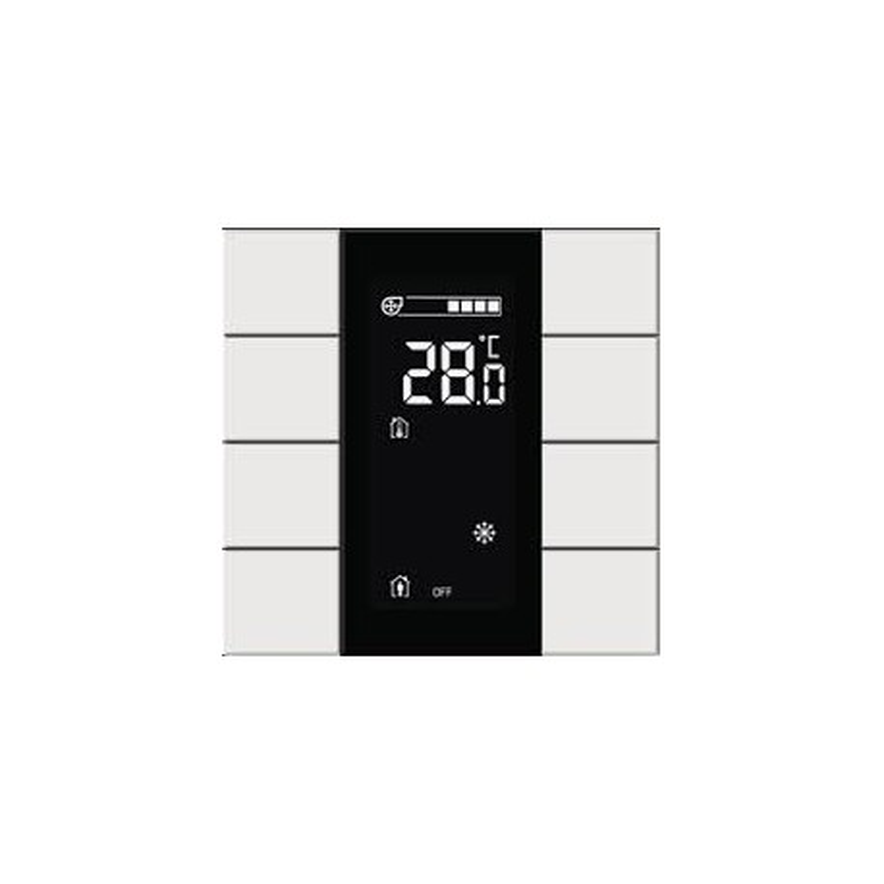 Interra 4 10.1'' Touch Panel Frame Black Aluminum