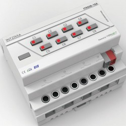 8 Channel Knx Combo Switch Actuator